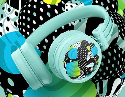 Mojo ArtSpace 1/4 – Colors Headphones