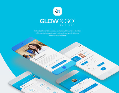 App Design for Glow & Go Skin Clinic