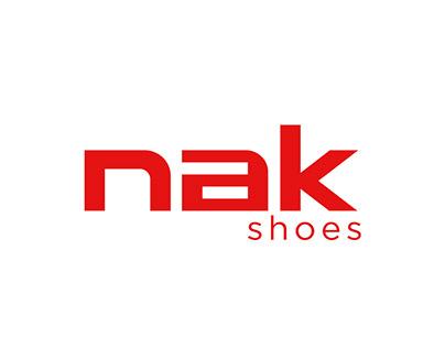 nak shoes e-shop design