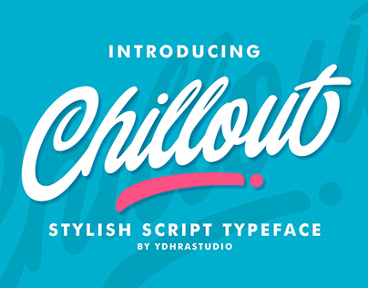 Chillout Typeface | Free Download