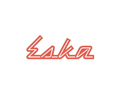 Eska Restaurant – visual identity