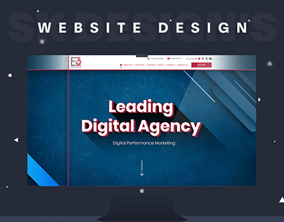 E360 Digital Agency & Event Planner Website Design