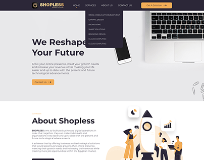 Shopless Business Solutions