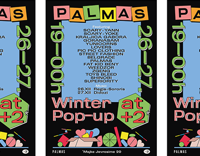 Palmas Pop-up Event Poster