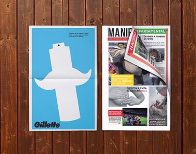 'Manifesta' Newspaper