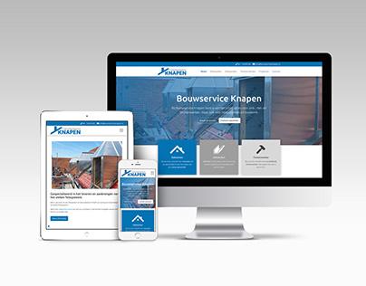 Website Bouwservice Knapen