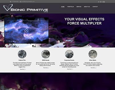 Bionic Primitive Website Developments