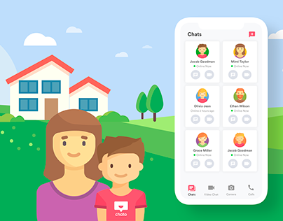 Chato / Safe Messaging App for Parents and Kids