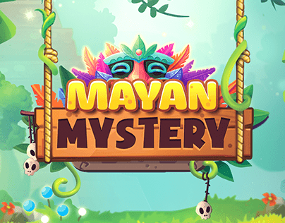 Mayan Mystery - Match 3 Mobile Game Art