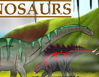 Dinosaur Sample Book Cover