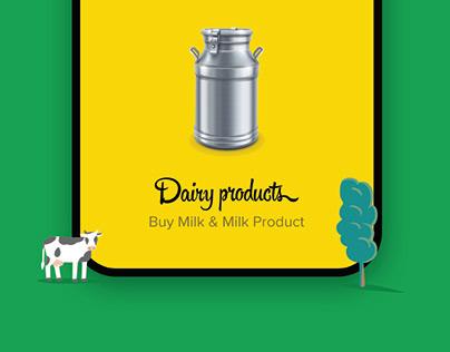 Milk and Milk Product Online