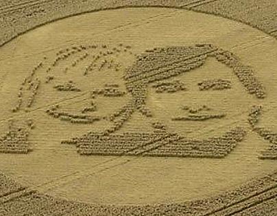 Richard & Judy // Land Art