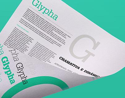 Glypha Specimen Sheet