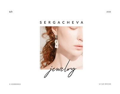 Sergacheva jewelry e-commerce online store