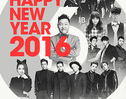 YG FAMILY – HAPPY NEW YEAR 2016