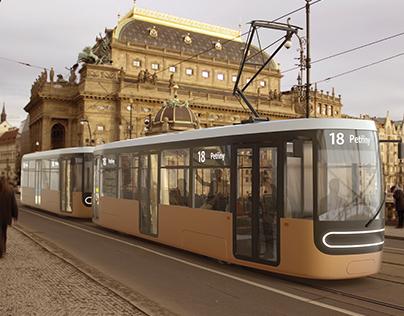 Tram for Prague   Tramvaj pro Prahu