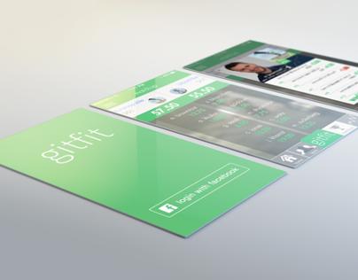 Gitfit - Mobile App Concept