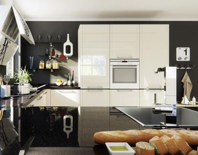 Aluminium-made kitchen