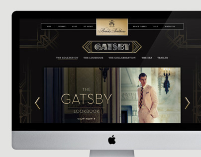 Brooks Brothers x The Great Gatsby
