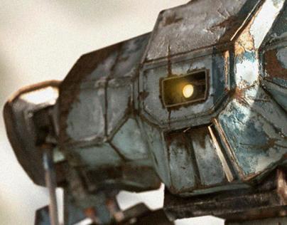 Robot 3d.