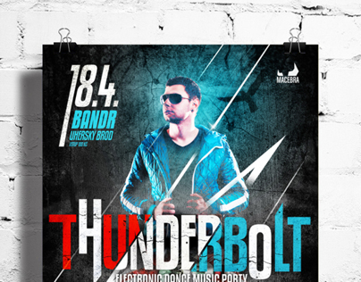 Poster for THUNDERBOLT party