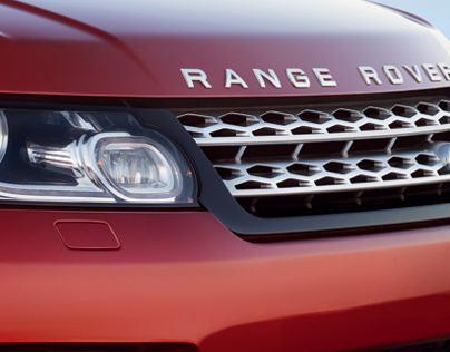 Range Rover Sport. Test Drive Website