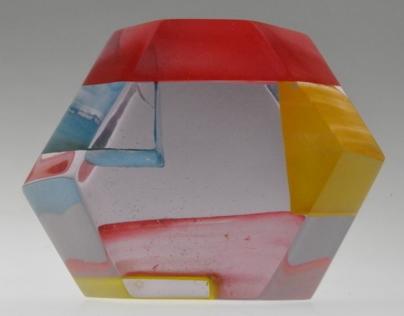 geometrical resin