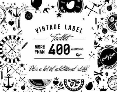 Vintage Label Animations