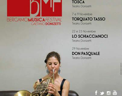 Bergamo Musica Festival 2014, la nuova locandina