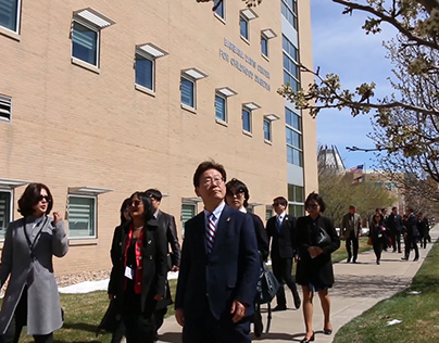 Korean Delegates' Visit to Aurora