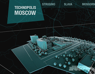Interactive map about Moscow's technoparks