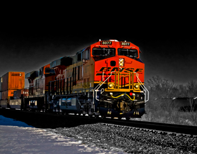 Selective Color Trains