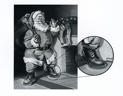 "Dr. Martens ""Santa"""