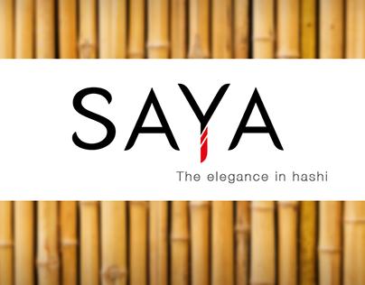 | PRODUCT DESIGN |  SAYA - the elegance in hashi
