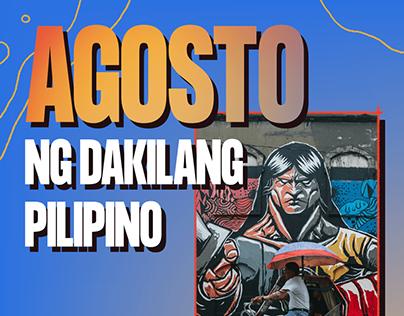 EON Dips - Agosto ng Dakilang Pilipino