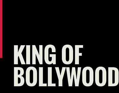 Artwork designed for SRK's 54th Birthday.
