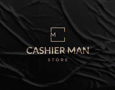 Logo Cashier Man Store