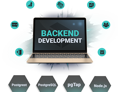 Backend services website