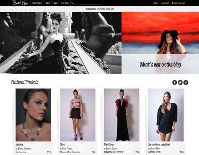 Bastet Noir - clothing & fashion ecommerce website
