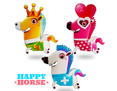 Happy Horse_Paper Toy