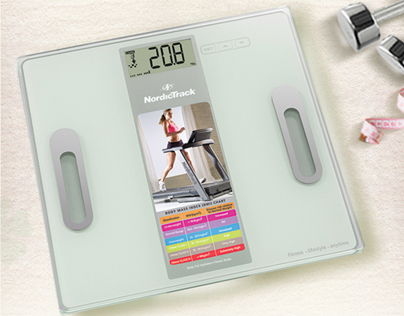 Nordictrack Scale Box Packaging