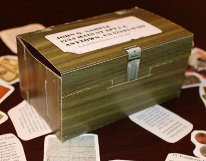 WWII Museum Footlocker Direct Mail Package