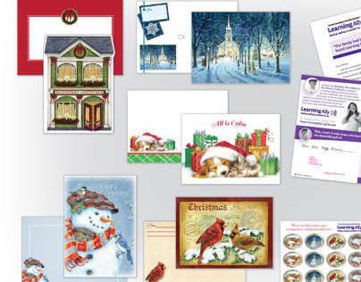 Holiday Card Presentation - ALLY