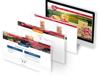 Massas daBoa Website