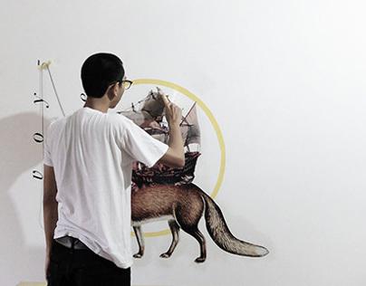 Dromomania - A Collage Mural