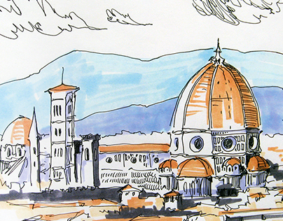Italy | Sketches | 2015