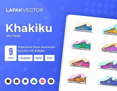 Khakiku : Shoes Illustrations