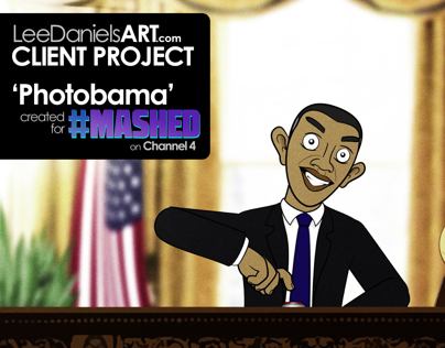 CLIENT PROJECT: Photobama | Mashed | TV | Channel4 | UK