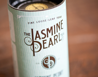 Packaging for The Jasmine Pearl - Tea Company