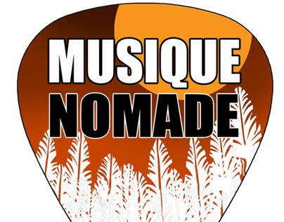 Logo Design for Musique Nomade